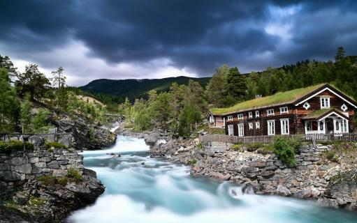 Am wilden Fluss