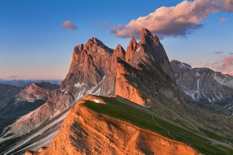 Seceda - Sonnenuntergang im Herzen der Dolomiten
