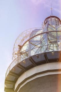 Lichtturm im Herbstlicht