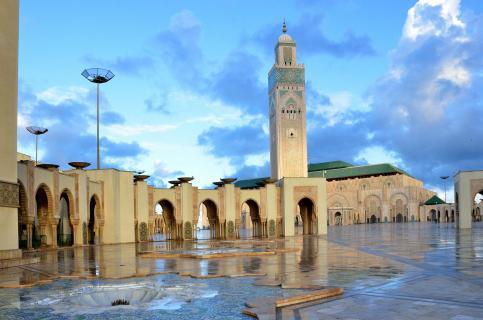 Moschee Hassan II.in Casablanca
