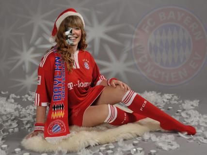 Fan Weihnachtsportrait