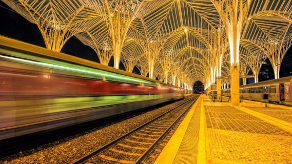 Bahnhof Oriente / Lissabon