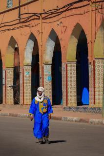 Marokkaner mit Turban