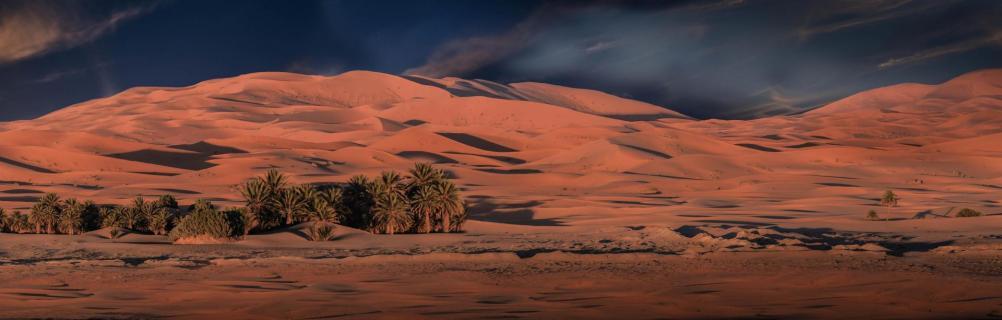 Erg Chebbi_ Wüste, Marokko