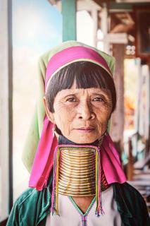 Burmesische Frau
