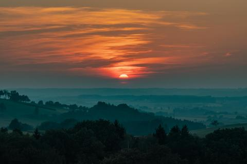 Sunset im