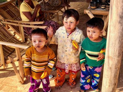 Kinder, Myanmar