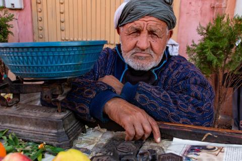 Händler aus Marrakesch