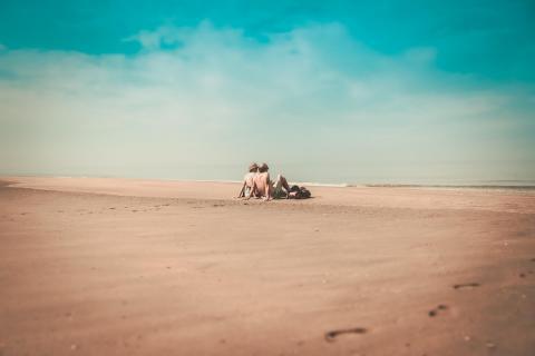 Zandvoort am Strand