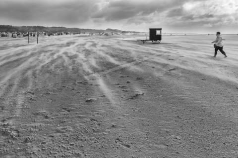 Sturm am Strand