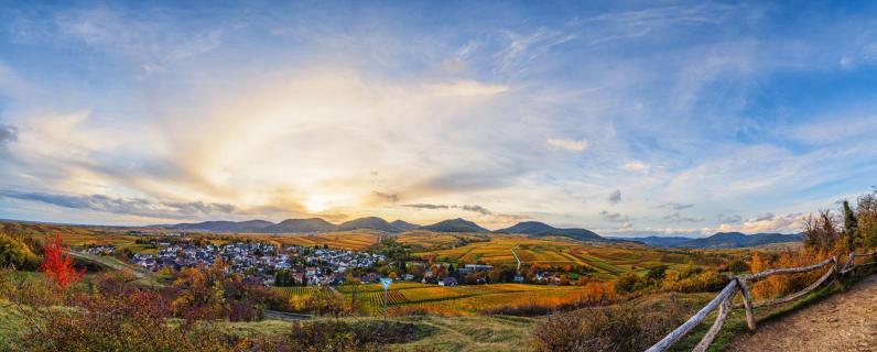 Südpfalz im Herbst