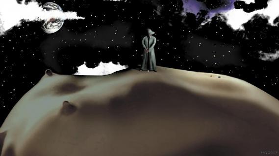 One second - Surrealismus - Akt