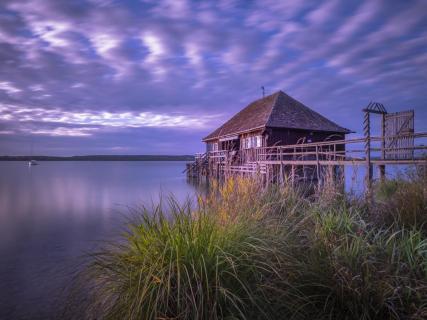 Das Bootshaus in Buch am Ammersee