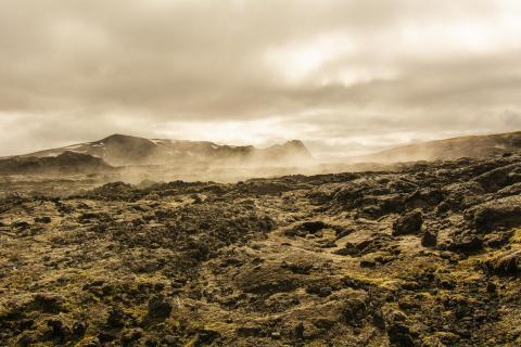Leirhnjúkur Lava Fields, Iceland