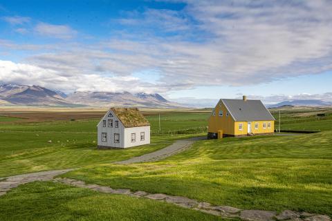 2 Häuser in Island