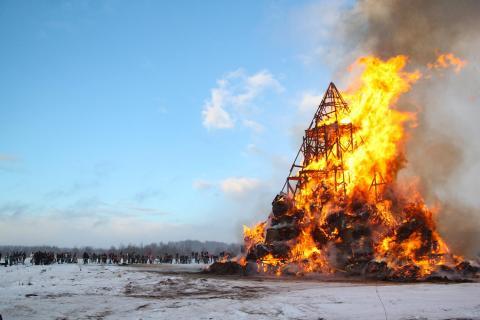 Russische Wintervertreibung