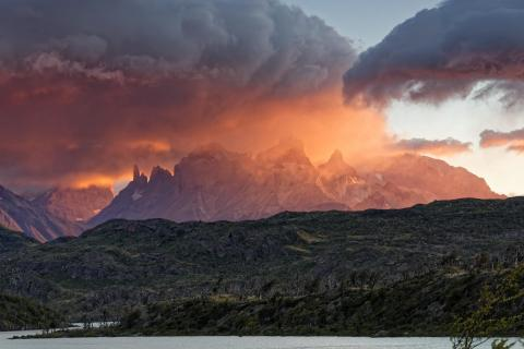 Chile - NP Torres del Paine - Sonnenaufgang