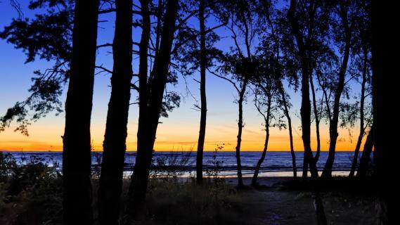 Dänemark Bornholm Blaue Stunde - Sonnenaufgang