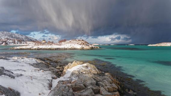Norwegen - Sommarøy - Aufziehender Wintersturm