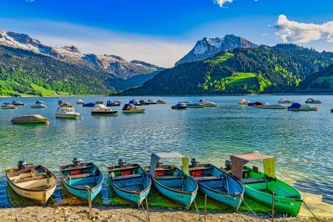 Stausee Innertal Schweiz