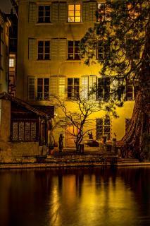 altes Haus Luzern nightshot