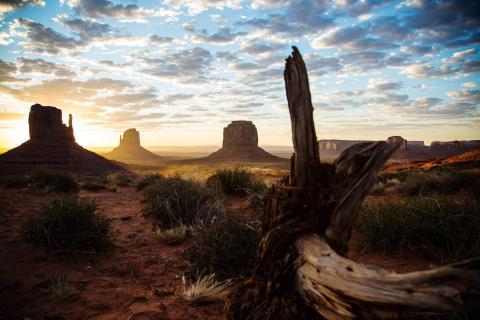 Monument Valley erwacht