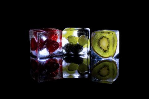 Früchte Cocktaileis