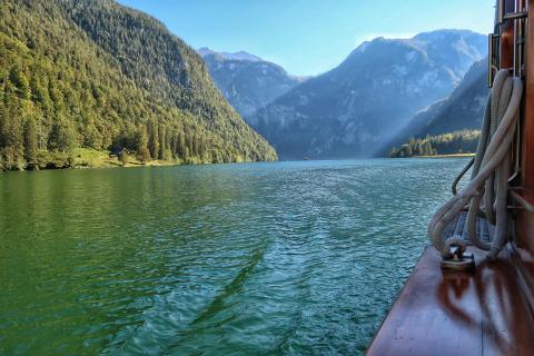Bootsfahrt am Königssee