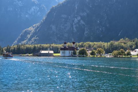 Schiffahrt am Königssee
