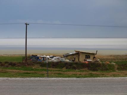 Türkei Tuz Gölü Salzsee