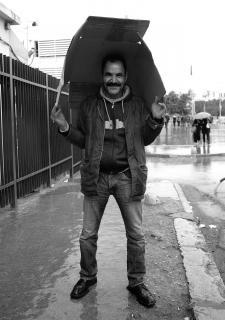 Rainy day in Tunis