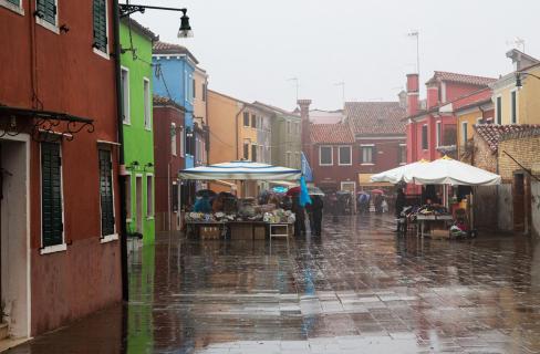 Regen-Markt