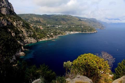 Bay Marina del Campone amalfi coast italy