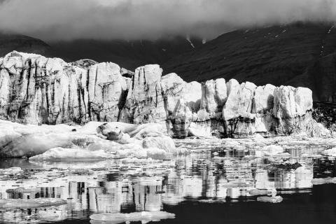 Gletscherwand