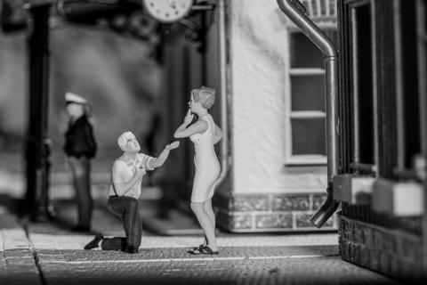Heiratsantrag ...