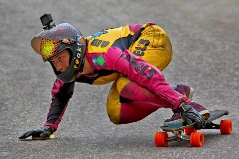 Downhill Skater
