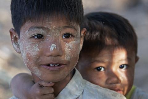 Brüder aus Schwe-Zi-Dein, Myanmar
