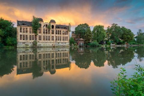Sommerabend in Halle