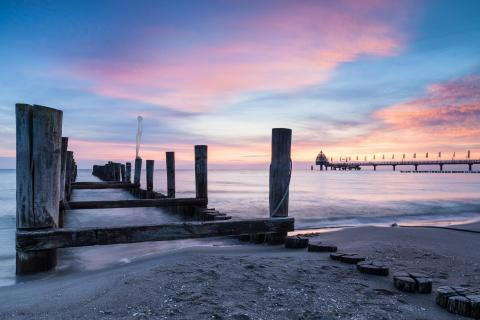 Sunrise over Zingst I