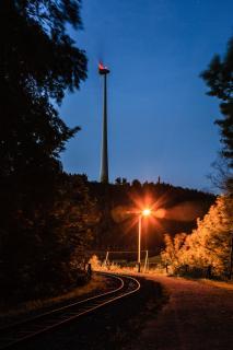 Abendstimmung am Piesberg