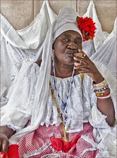 Kubanische Lady
