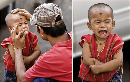 ...kleine Jungen müssen auch mal weinen dürfen