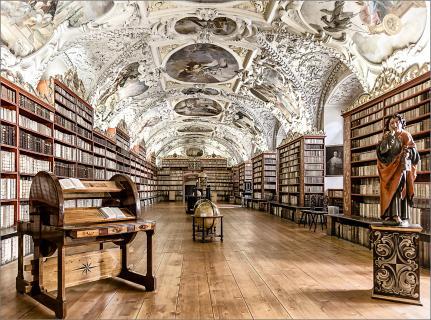 Bibliothek im Kloster Strahov_1
