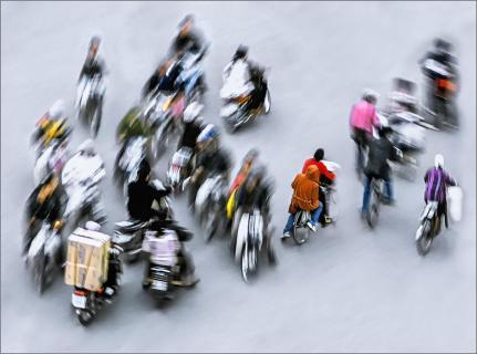 Rush Hour in Hanoi