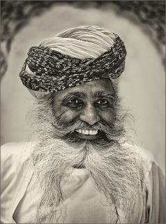Ein freundlicher Inder