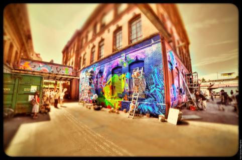 Time in Space Graffiti 2012