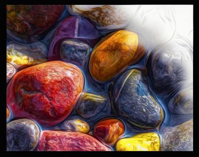 Steine im Wasser #3