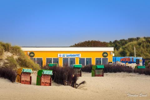 Dünenrestaurant - Helgoland