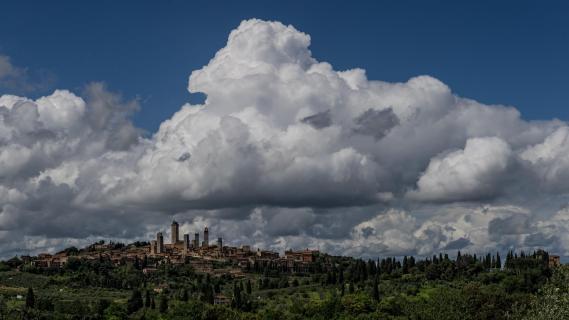 Toskana, San Gimignano