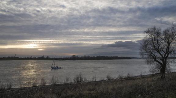 Rheinbogen bei Wesel